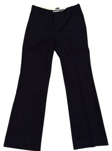 Gap Boardroom Ready Flare Pants Black pinstripe