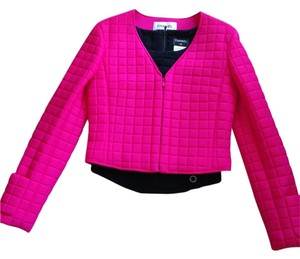 Chanel Athletic Pink and Black Jacket