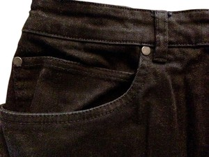 Eileen Fisher Plus-size 20 Cotton Denim Straight Leg Jeans-Dark Rinse