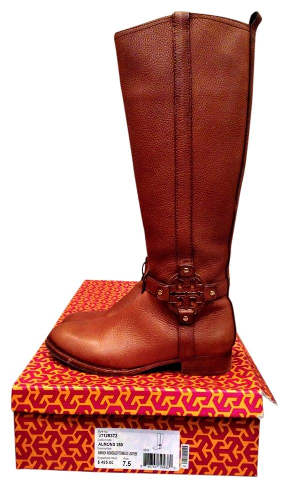 ladies Tory Burch Camel/Almond Camel/Almond Burch Boots/Booties Excellent 824d7e