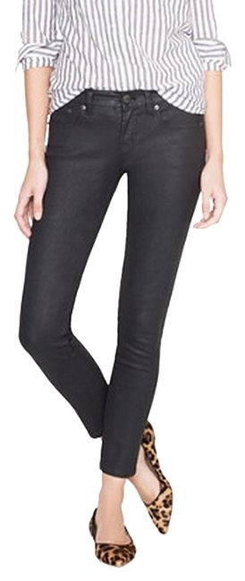 Item - Black Coated Toothpick Pant In Skinny Jeans Size 26 (2, XS)