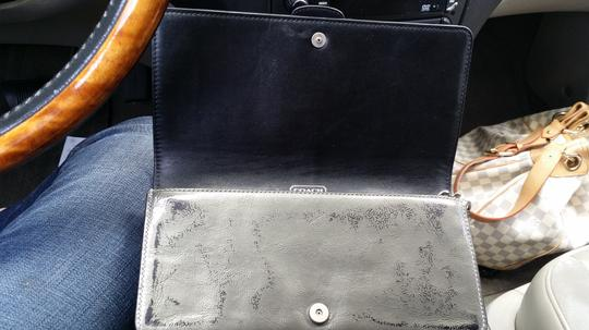 Coach Wristlet in Silver/PEWTER