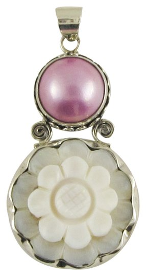 Island Silversmith Island Silversmith Mother of Pearl Mabe Pearl 925 Silver Pendant 0501G *FREE SHIPPING*