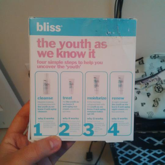 """Bliss Bliss """"The Youth as You Know It"""