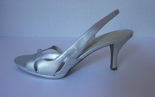 Naturalizer Silver Sandals Image 2