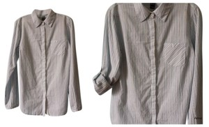 Mango Button Down Shirt