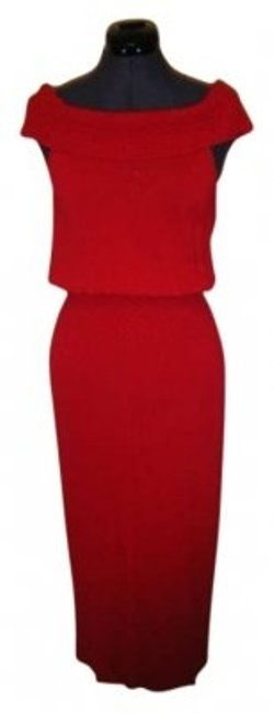 Preload https://item1.tradesy.com/images/max-studio-red-mid-length-night-out-dress-size-4-s-139800-0-0.jpg?width=400&height=650