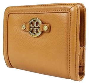 Tory Burch Tory Burch Amanda Shrunken slim Contiental Wallet Royal Tan