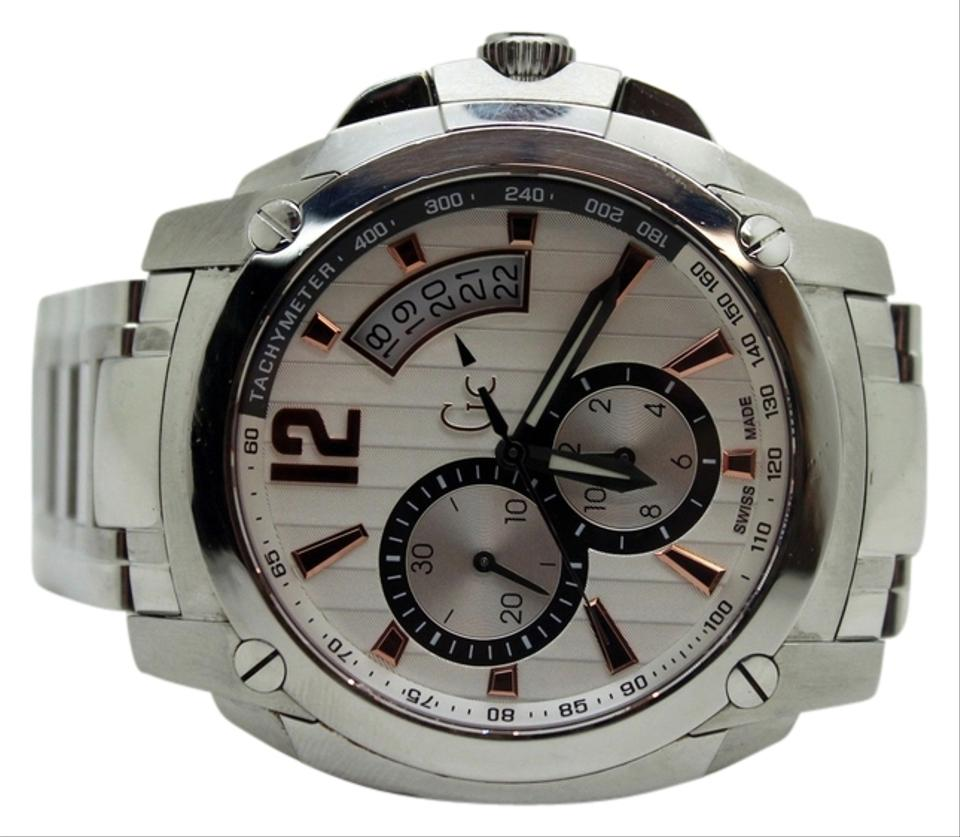 7b66ca7fa3fa Guess Guess Collection Men s GC Stainless Steel Watch X78001G1S Image 0 ...