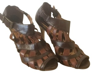 Dollhouse Brown Platforms