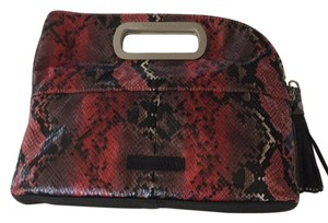 BCBGMAXAZRIA Red-multi Clutch