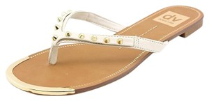 DV by Dolce Vita Dax Studded Off White Sandals