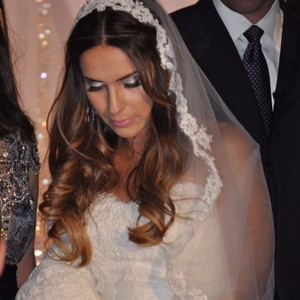 Lace Lined Wedding Veil