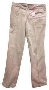 Gloria Vanderbilt Relaxed Pants beige