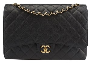 Chanel Classic Caviar Quilted Leather Shoulder Bag