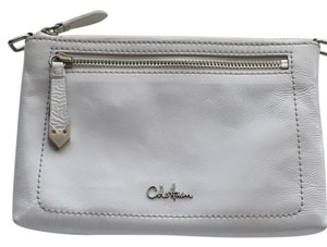 Cole Haan White Clutch