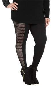 Torrid Torrid (Size 1X and/or 14/16) Lace Inset Leggings - New w/out Tags