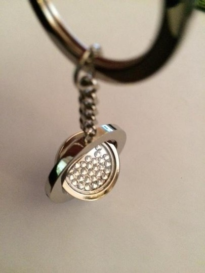 Other New/Never Used Silver Plate/Crystal 3D KeyRing