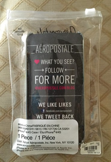 Aéropostale Aeropostale Mirror iPhone 4/4s Case