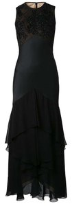 Jason Wu Gown Evening Beaded Sleeveless Tiered Dress