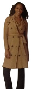 CAbi Double Breasted Soft Stretch French Trench Trench Coat