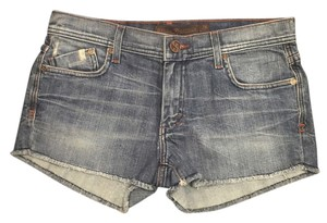 Dylan George Distressed Denim Cut Off Shorts