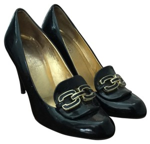 Coach Navy Pumps