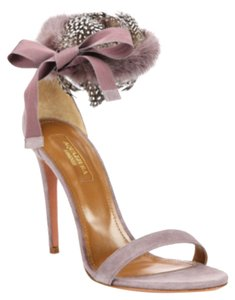 Aquazzura Purple Pumps