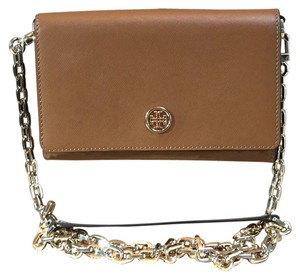 Tory Burch Tory Burch Robinson Wallet On A Chain