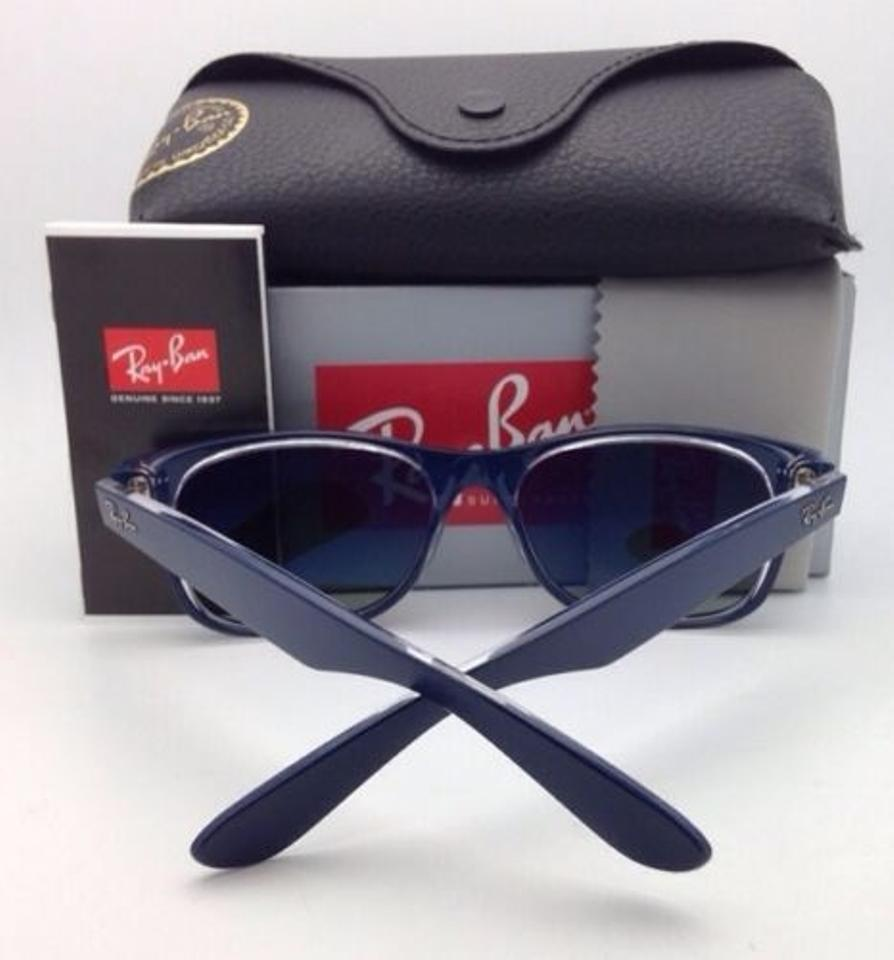ba8d4ed2be5 Ray Ban Sunglasses Blue And Clear