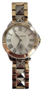 Vince Camuto Vince Camuto Women's VC/5049SVTT Two-Tone Swarovski Crystal-Accented Bracelet Watch