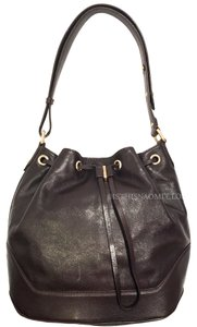 Marc by Marc Jacobs Leather Studded Drawstring Cross Body Bag