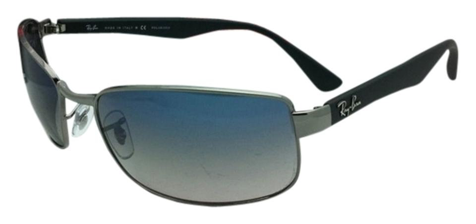 b0f5543405 Ray-Ban Rb 3478 004 78 63-17 Gunmetal W Blue Gradient Grey Lenses ...