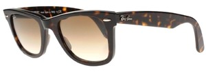 Ray-Ban New Ray-Ban Sunglasses RB 2140 902/51 50-22 WAYFARER Tortoise Havana Frame w/Brown Gradient Lenses