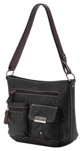 Rosetti Coach Leather Cross Body Bag