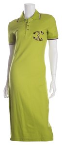 Just Cavalli short dress Lime Green on Tradesy