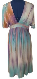 Max Mara short dress Multi Designer Beach Wedding Formal Silk on Tradesy