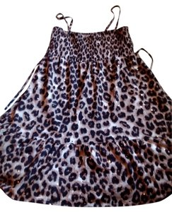 Justice short dress Leopard Mini Cute on Tradesy