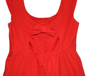 American Eagle Outfitters short dress Red on Tradesy