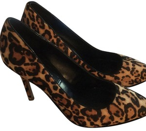 White House | Black Market Leopard Pumps