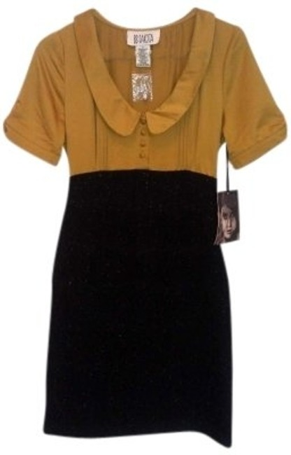 Preload https://item3.tradesy.com/images/bb-dakota-mustard-and-charcoal-ochre-name-the-vera-style-bd48546-knee-length-workoffice-dress-size-2-139902-0-0.jpg?width=400&height=650
