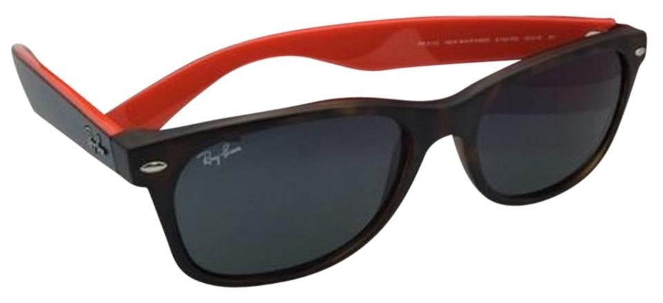 Ray Ban Wayfarer Orange And Blue