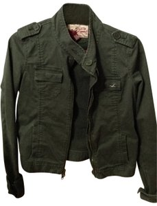 Hollister green Jacket