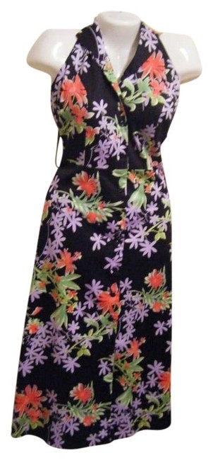 Preload https://img-static.tradesy.com/item/139909/danny-and-nicole-sun-floral-mid-length-short-casual-dress-size-12-l-0-0-650-650.jpg