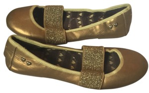 Rocket Dog Gold Flats
