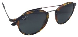 Ray-Ban New Ray-Ban Sunglasses ICONS RB 2447 1158/R5 49-21 Blue Havana & Gunmetal Frame w/Grey Lenses