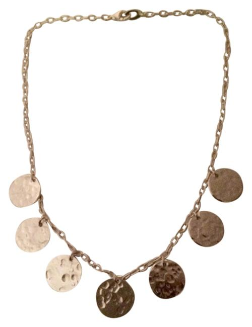 Item - Silver New/Never Used Sterling .925 Dainty Disc Necklace