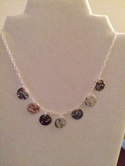 Cellini New/Never Used Sterling Silver .925 Dainty Disc Necklace