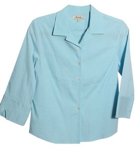 Façonnable Button Down Shirt Blue