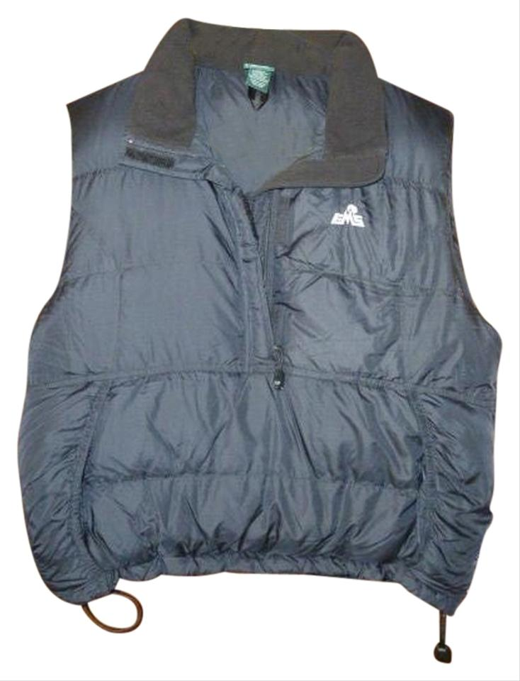 359afd2ff8 Eastern Mountain Sports Black Womens Ems Primadown Down Slipover Style  Small Vest